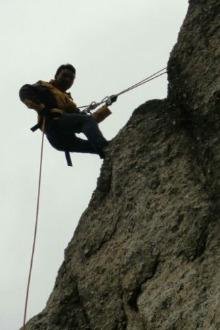 12.11日(周日)铁山攀岩,速降野外训练