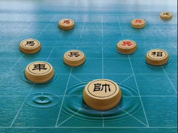 分享咖啡厅象棋友交流赛