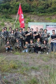 珠海海狮真人CS野战猴年最后一场活动召集