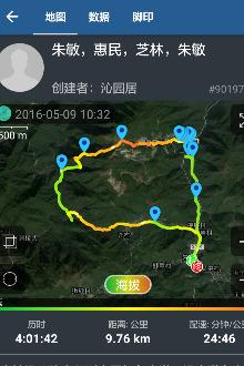 1225日(周日)鄞州横街朱敏环线爬山