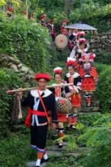 周六英西峰林、探索神秘千年瑶寨,瑶族篝火晚会二日游