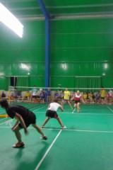 1月13日晚羽翔俱乐部羽毛球活动。