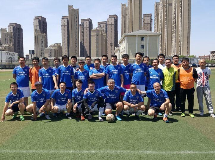 9月22日阳光星期六足球队队内活动