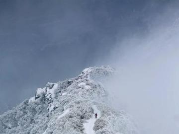 五岳衡山,一起赏雪赏雾凇