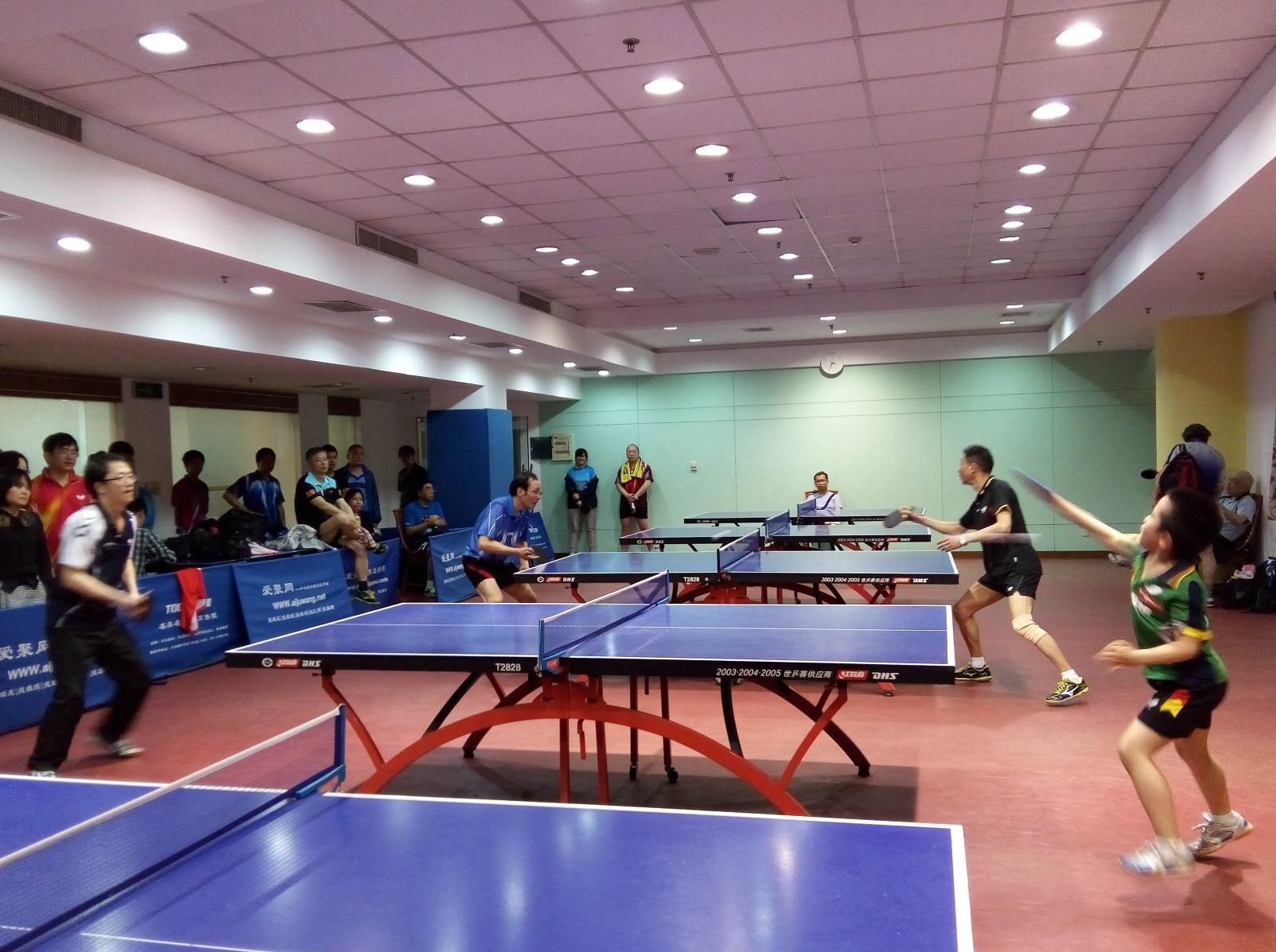 徐汇光大乒乓俱乐部1号周二晚上的活动报名