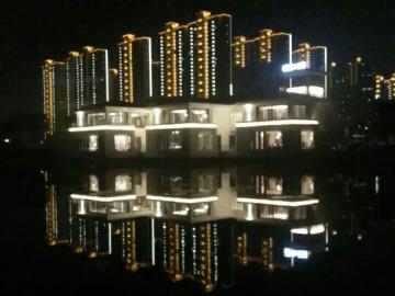 西漳公园夜跑