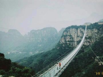 国庆节红崖谷玻璃玻璃吊桥俩日游