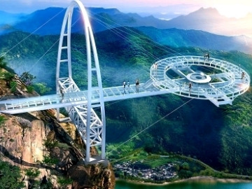 3.31石林峡平谷UFO玻璃大桥一日