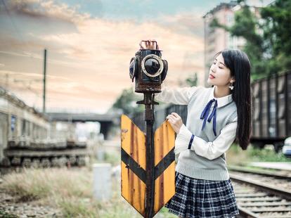 草埔铁路人像摄影创作