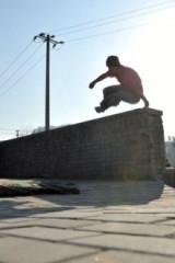 跑酷,空翻,专项体能训练。
