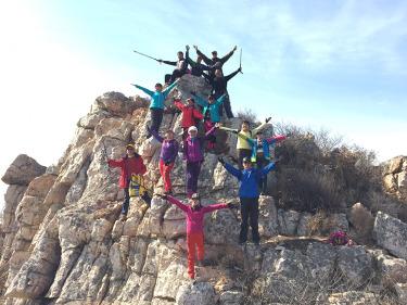 登协活动:3月11日周六攀爬碾盘山