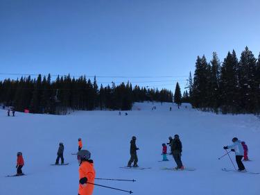 1月21日五指山滑雪