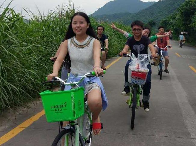 8月18日野炊大鹏古城探秘杨梅坑骑单车