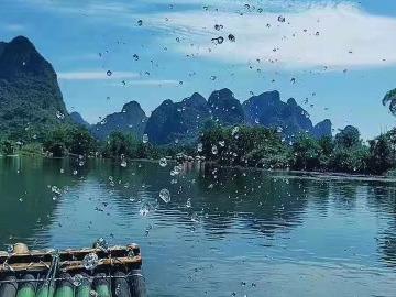 10月1-3日桂林阳朔漓江/西街/遇龙河