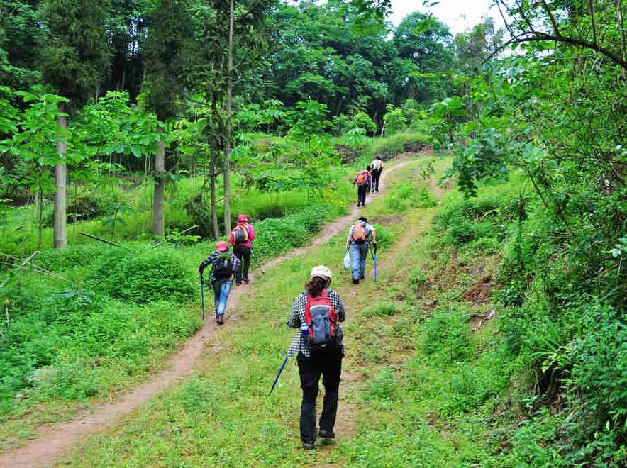 7号轻徒步 三昧水穿越丹景山一日游