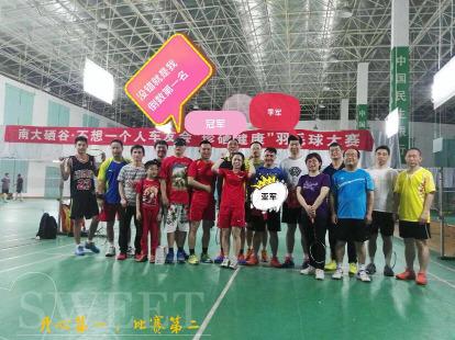 红谷滩羽毛球活动《徐士华南昌房产车友会》