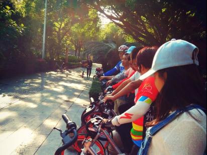 2018年第一期骑聚泉城(共享单车夜骑)