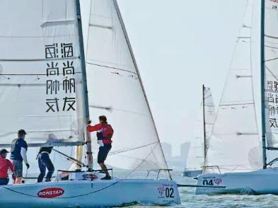 帆船体验活动