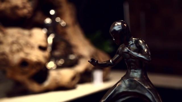 陶雕塑之李小龙[1分钟]