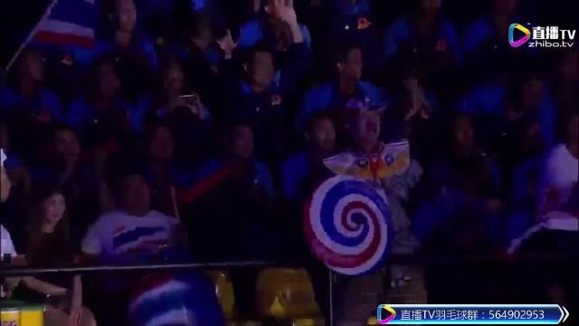 2017羽联黄金大奖赛泰国站-混双决赛-中国vs泰国