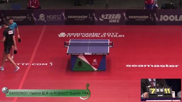 匈牙利公开赛 萨姆索诺夫vs昆汀
