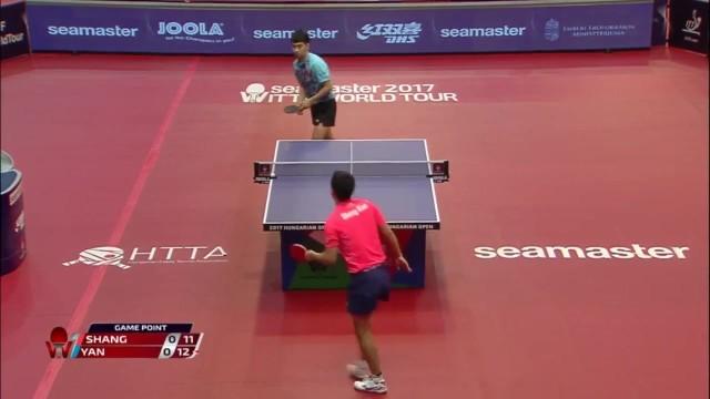 匈牙利公开赛 闫安vs尚坤