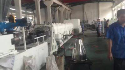 linha de extrusão de tubos 400 milímetros pvc