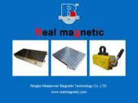 平面永磁吸盘的吸力测试(8~9kg/cm2)