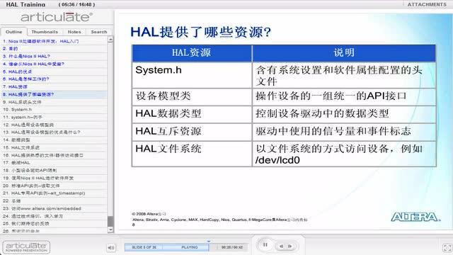 20 Nios II 处理器开发软件_HAL入门