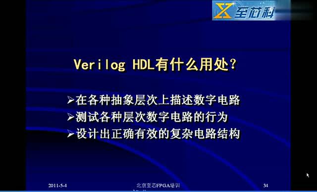 02 Verilog HDL有什么用处