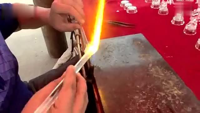 纯手工制做水晶生肖拉丝