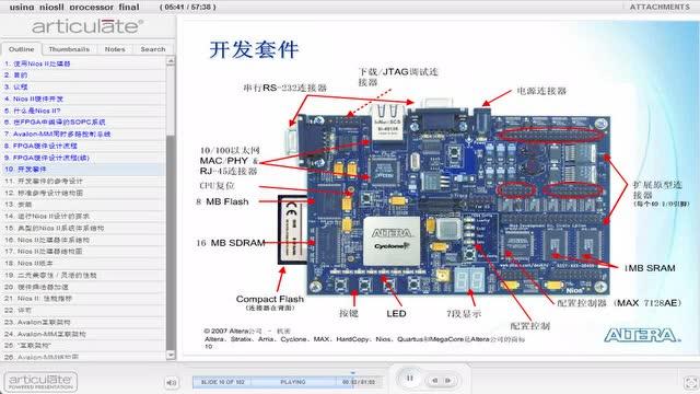 16 使用Nios II 处理器