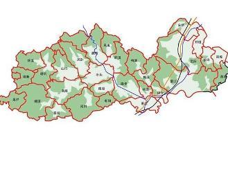 平阳县行政区划图