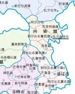 兴安盟科右中旗地图_兴安盟 - 搜狗百科