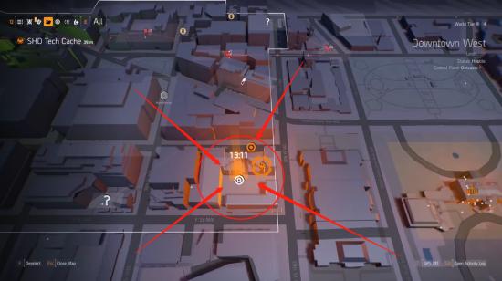 《全境封锁 2》西下城区国土战略局装备箱拿法