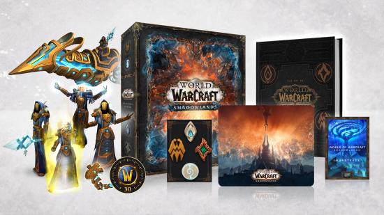 《魔兽世界:暗影国度》今年秋季上线,实体典藏版内容公布