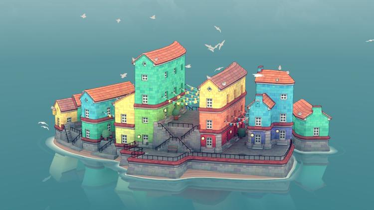 《Townscaper》:一款连接虚拟与现实的建造游戏