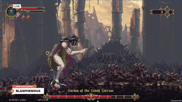 《渎神》E3 试玩影像 风格黑暗画风诡异