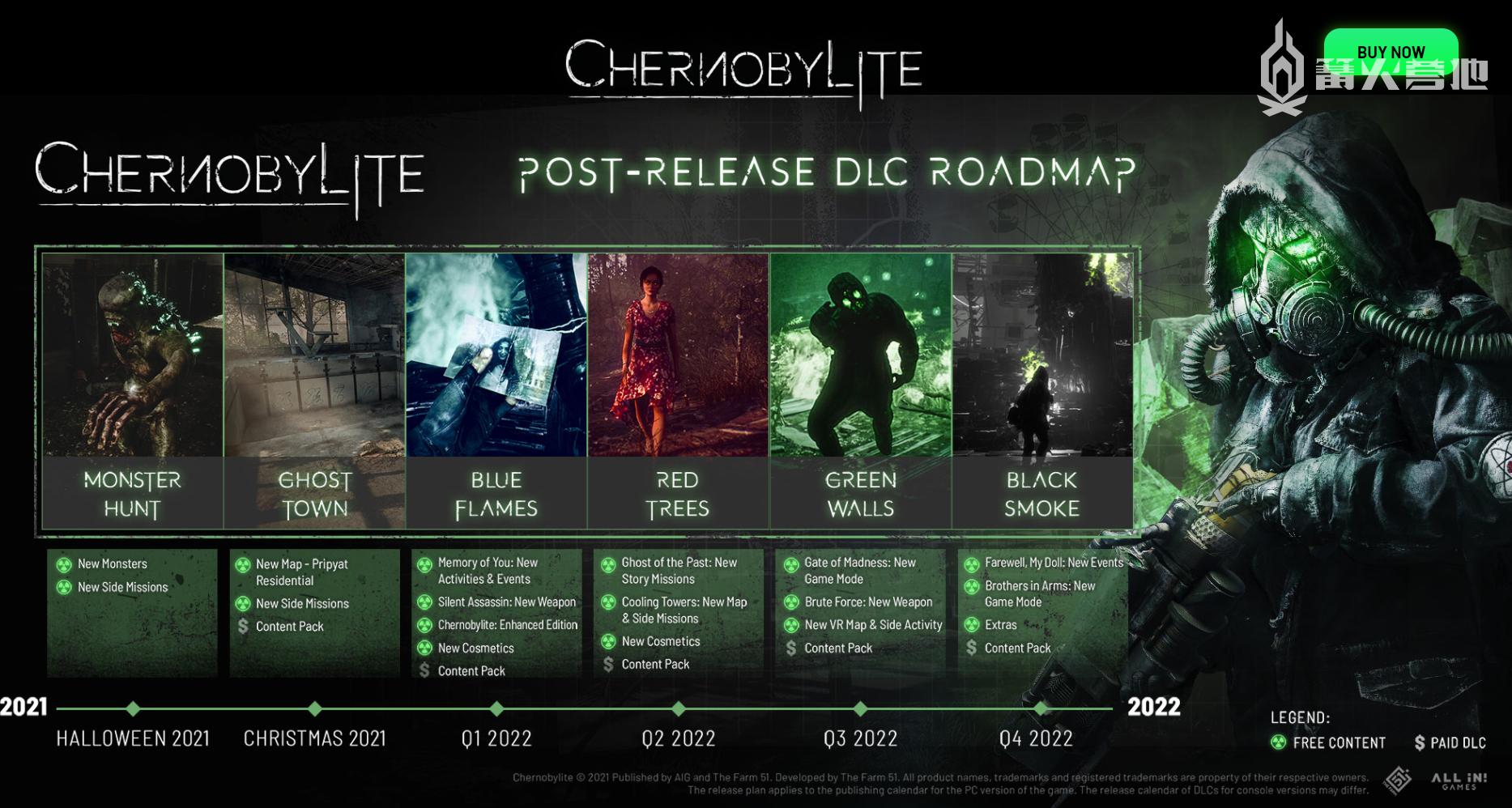 生存恐怖 RPG《切尔诺贝利人》公布未来一年更新计划