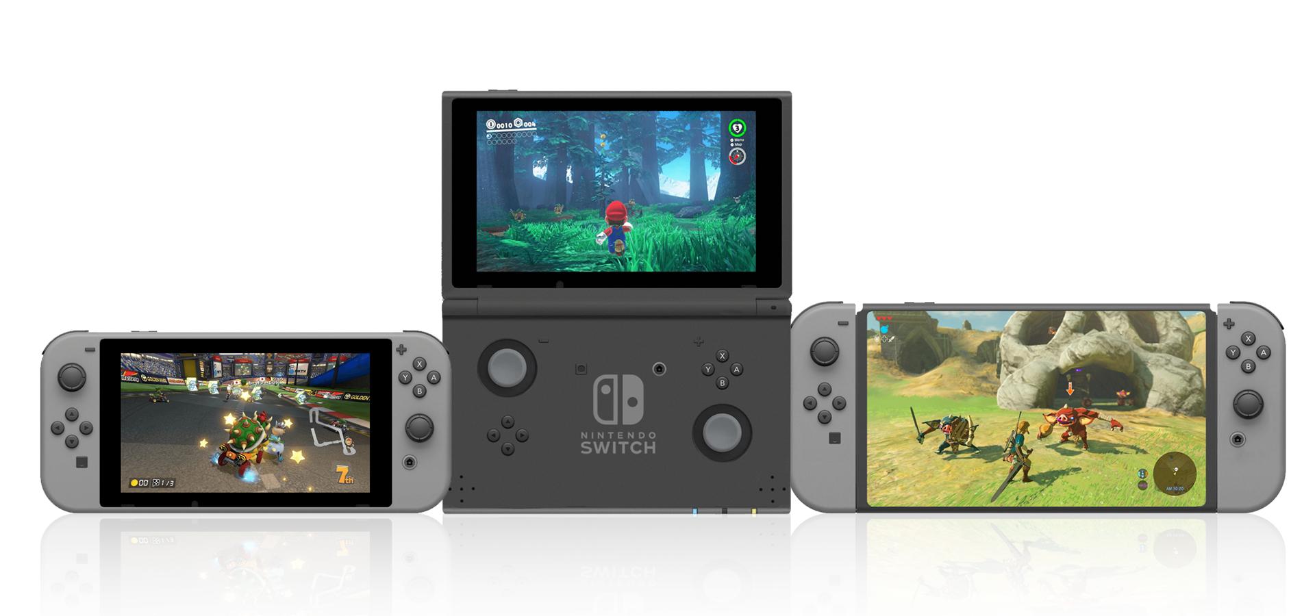 #游话说# Switch 可能要出新款,你希望它会有哪些变化呢?