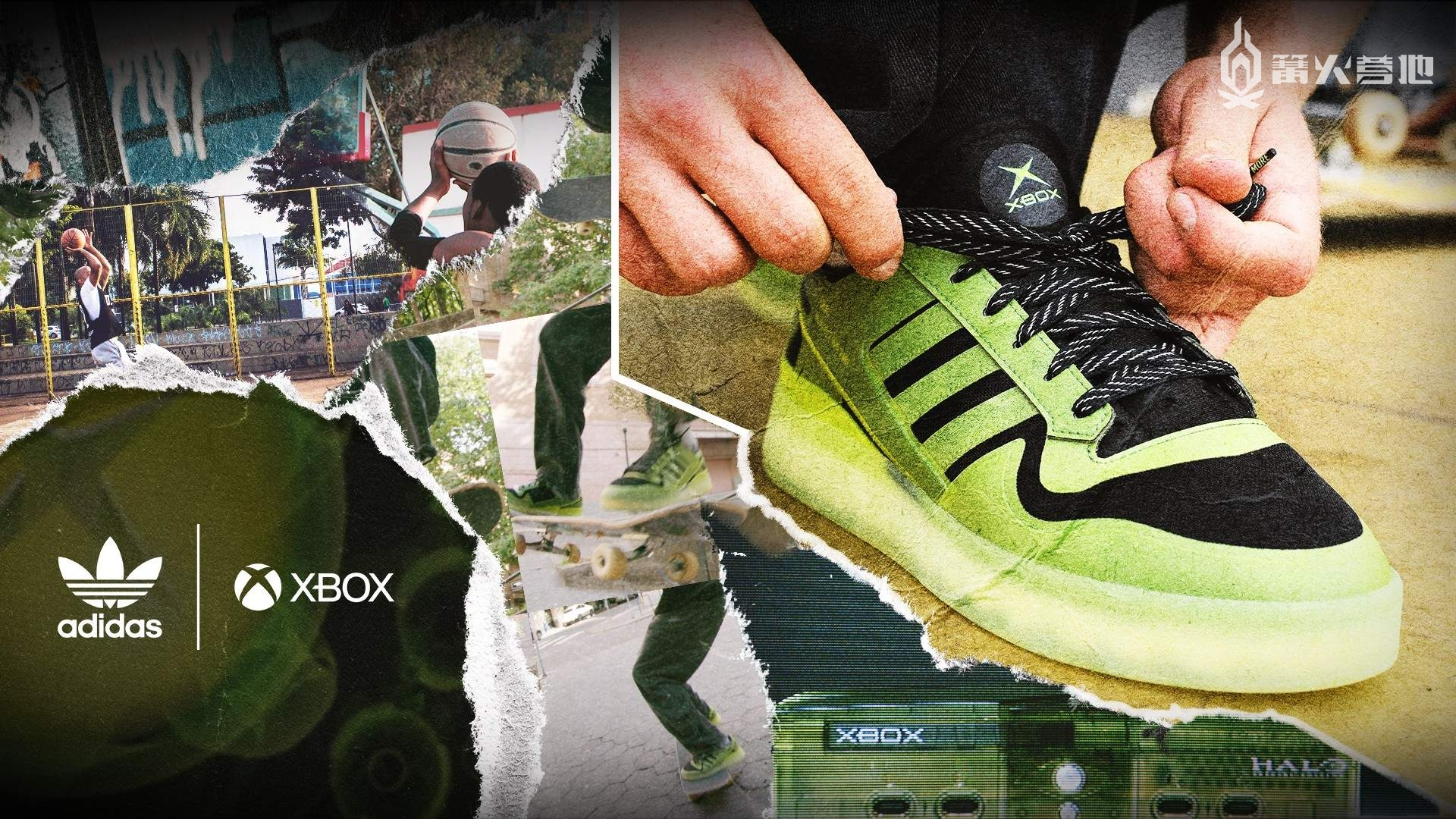 阿迪达斯宣布推出 Xbox 20 周年主题运动鞋