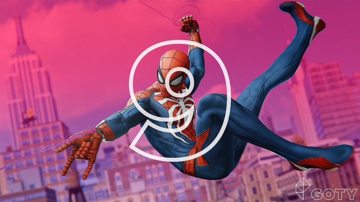 Polygon 年度十佳游戏之《漫威蜘蛛侠》