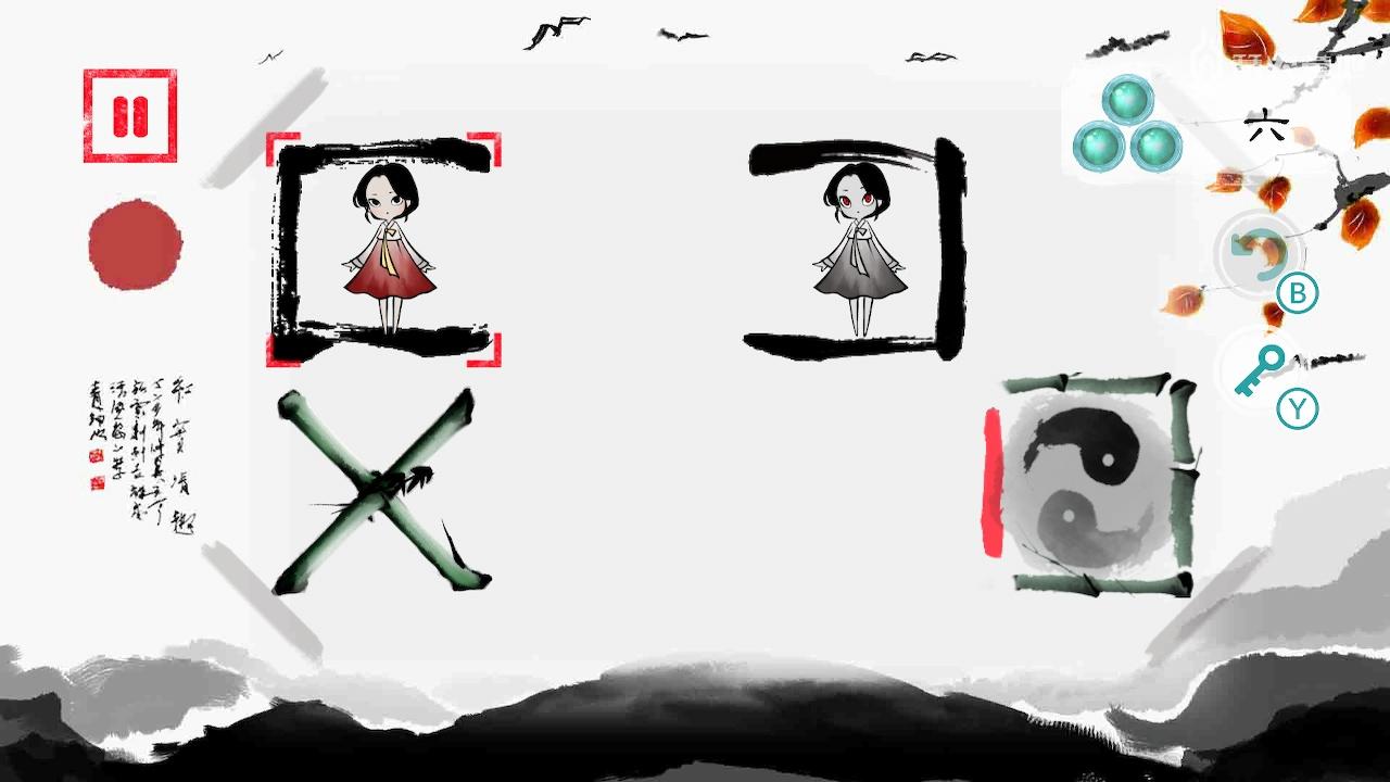 水墨风解谜《琳,画在方块上的少女故事》年内登陆 NS