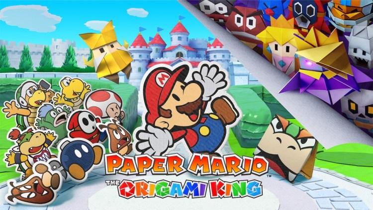 《纸片马力欧:折纸国王》短篇新预告视频公布,展示游戏新场景