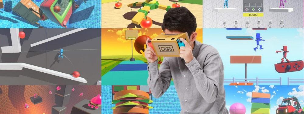 《任天堂 Labo 04:VR 套裝》IGN 7.9 分:「任天堂魔法世界」入门工具