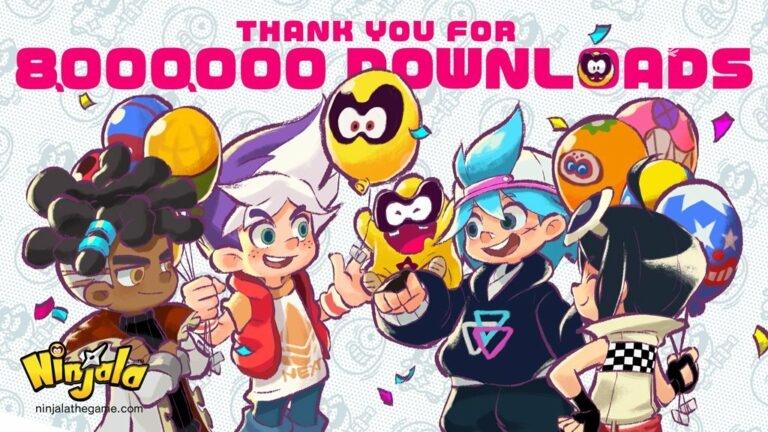 F2P 多人竞技游戏《Ninjala》累计下载量破 900 万