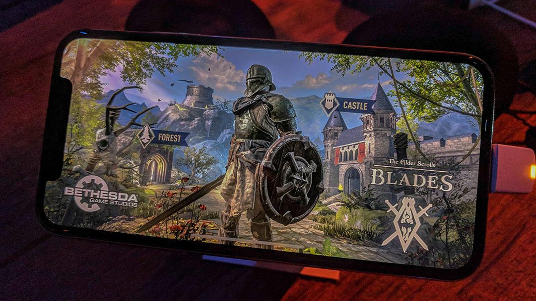 《上古卷轴:刀锋》预评测:手机上「老滚」,画质中的王者