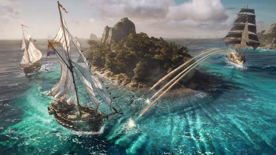 CJ 育碧游戏试玩 主要说说《碧海黑帆》
