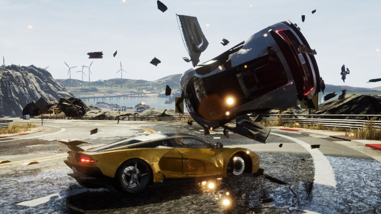 《危险驾驶(Dangerous Driving)》7.2 分:街机赛车游戏的合格继任者