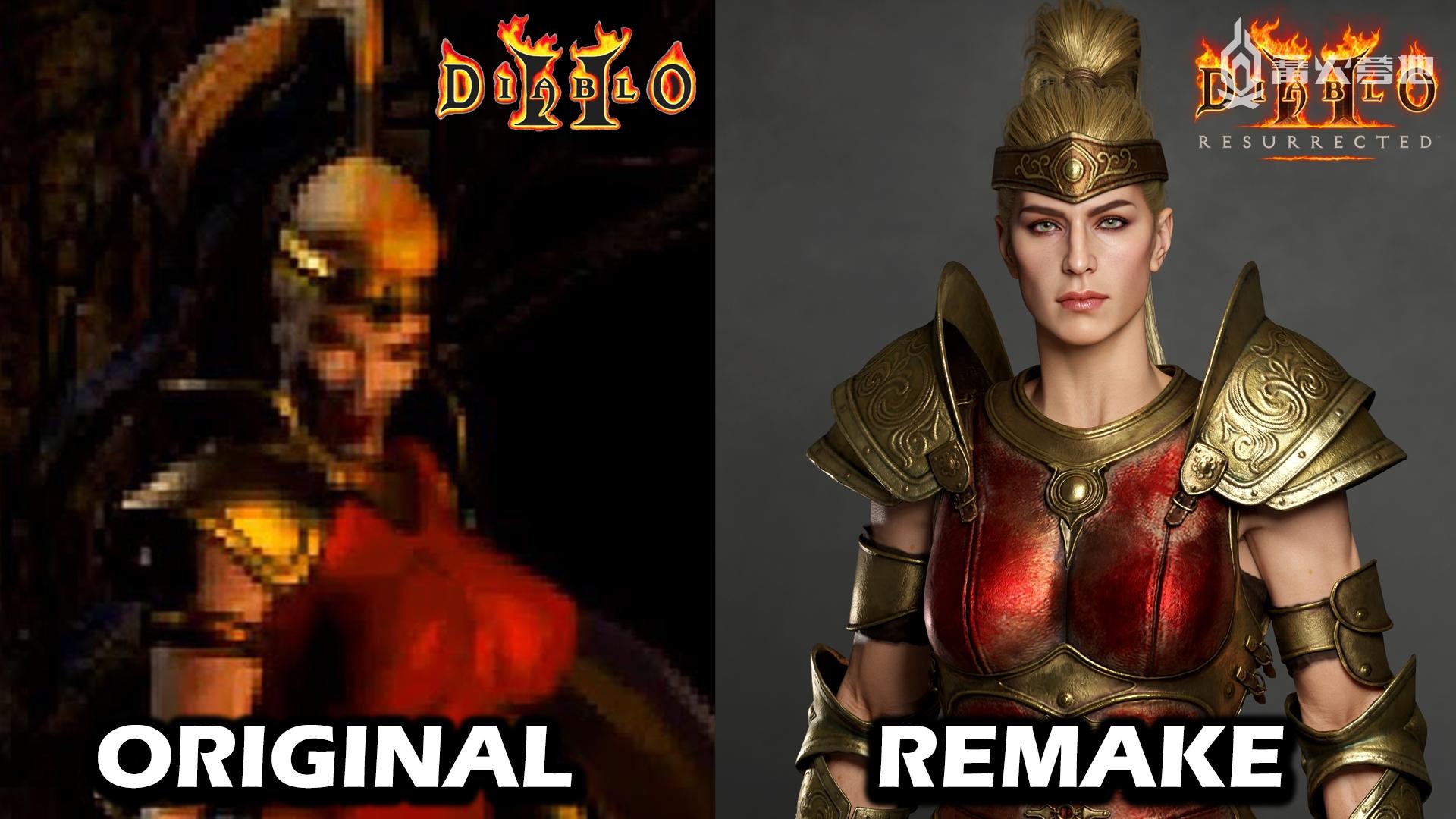 开发者分享《暗黑破坏神 2 狱火重生》角色建模细节